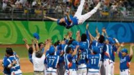 O beisebol foi disputado pela última vez nos Jogos de Pequim, em 2008