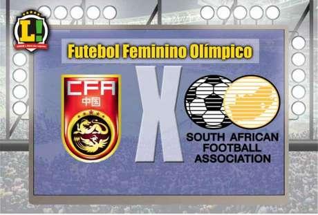China e África do Sul se enfrentam, neste sábado (6), no Engenhão em busca da primeira vitória