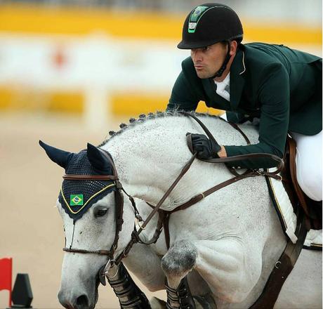 O gaúcho Eduardo Menezes e seu cavalo, Quintol
