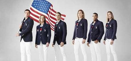 2b1bd43f81 Uniformes olímpicos são motivo de piada nas redes sociais