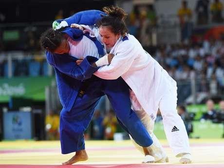 Brasileira havia vencido romena por ippon