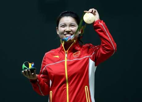 China ganha primeira medalha de ouro na Rio 2016
