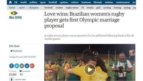 Reportagem sobre o caso no britânico The Guardian