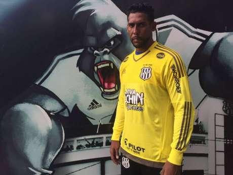 Goleiro está de volta ao clube de Campinas (Foto:Divulgação/Site Oficial da Ponte Preta)