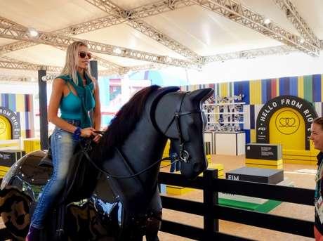Playground equestre no Complexo de Deodoro