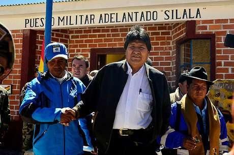 Evo Morales llama a Chile y Estados Unidos