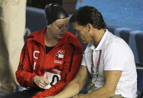 Kristel Köbrich quedó fuera en los 800 metros libres