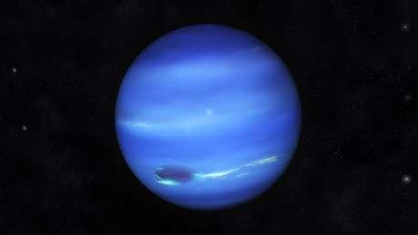 Astronômos descobriram um objeto localizado depois de Netuno, no sistema solar exterior, que se movimenta cada dia mais para cima