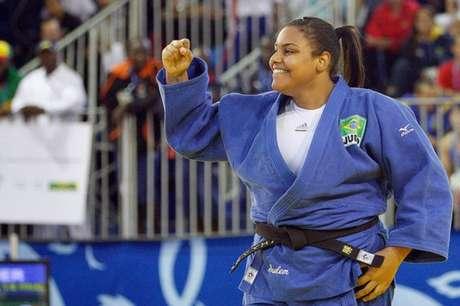 Maria Suelen busca sua primeira medalha olímpica (Foto: Reprodução/Facebook)