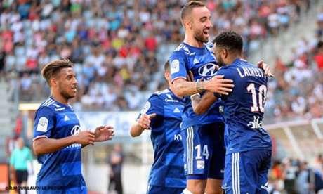 Lyon venceu e convenceu como visitante na primeira rodada (Foto: Facebook do Lyon)