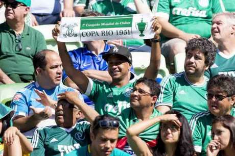 Palmeiras tem a segunda melhor média de público deste Brasileirão (Foto: Marco Galvão)
