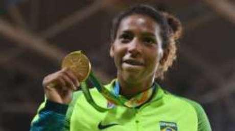Rafaela Silva conseguiu o primeiro ouro do Brasil