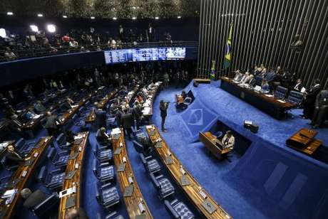 Começa sessão de julgamento do processo de impeachment da presidenta afastada Dilma Rousseff no Senado