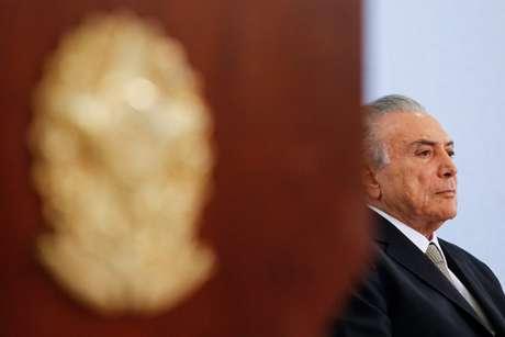 O presidente interino Michel Temer negou estar nervoso com o julgamento da presidente afastada Dilma Rousseff