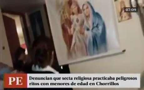 Una secta religiosa esperaba así el fin del mundo en Lima — Perú