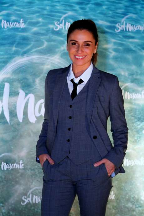Giovanna Antonelli na festa de lançamento da novela