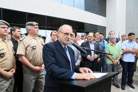 O secretário estadual da Segurança Pública, Wantuir Jacini, pediu exoneração do cargo
