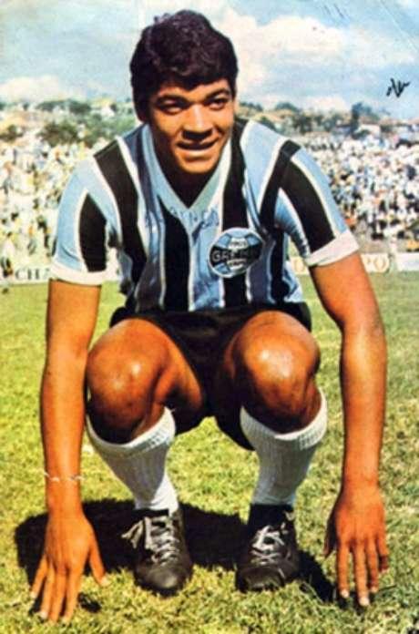 Alcindo Bugre marcou época com a camisa do Grêmio (Foto: Divulgação)
