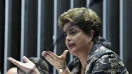 'Não respeito a eleição indireta, que é produto de um processo de impeachment sem crime', disse Dilma