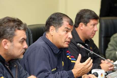 """""""Destituíram Dilma. Uma apologia ao abuso e à traição"""", disse o presidente do Equador"""