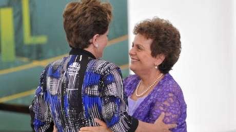 Presidente manteve amigas da época de militância, como Eleonora Menicucci, próximas e como parte de seu governo