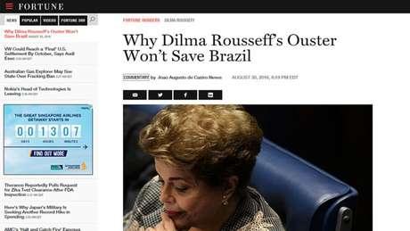 """O impeachment irá solucionar meses de crise aguda no país? Para consultor brasileiro ouvido por revista, a """"resposta curta é não"""""""
