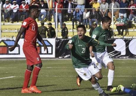 Bolívia chega à segunda vitória nas Eliminatórias Sul-Americanas (Foto: AIZAR RALDES / AFP)