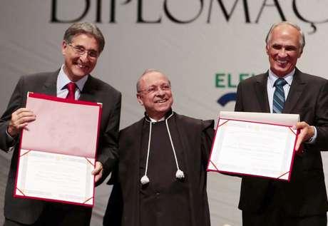 Fernando Pimentel e Antônio Andrade
