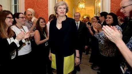 No encontro, estarão presentes os líderes mais importantes do mundo, como a nova primeira-ministra britânica, Theresa May.