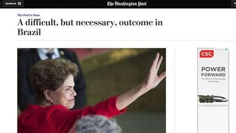Washington Post: jornal do CEO da Amazon foi um dos primeiros a defender o resultado do processo de impeachment como bom para o Brasil