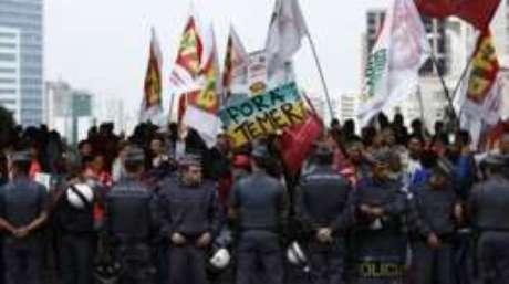 Policiais estão orientados a impedir que ocorra qualquer manifestação na avenida Paulista no domingo