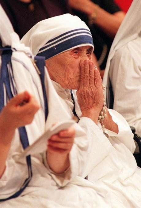 Madre Teresa nasceu como Anjeza Gonxhe Bojaxhiu, em 26 de agosto de 1910, em Skopje.