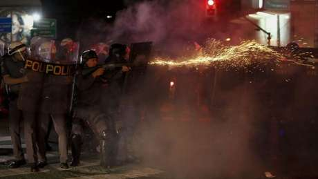 Policiais militares estavam autorizados a usar a força para impedir protestos na Paulista no próximo domingo