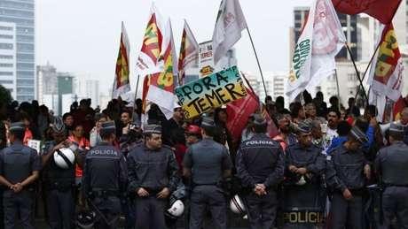 Policiais também foram orientados a impedir que ocorra qualquer manifestação na avenida Paulista no domingo