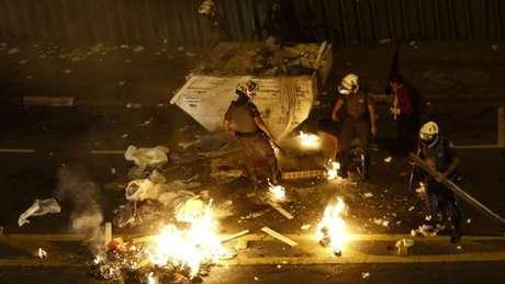 Últimos protestos em São Paulo foram marcados pelos confrontos entre manifestantes e policiais