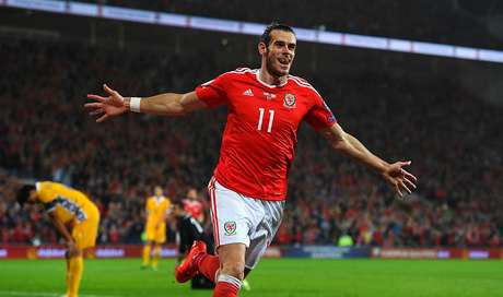 Bale comemora um dos seus gols