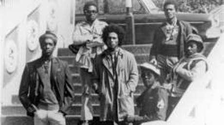 Bob Marley e o The Wailers; fama internacional chegaria em 1973