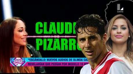 Difunden audio que involucra a Milett Figueroa y Claudio Pizarro