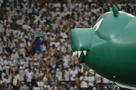 Setor Gol Norte do Allianz Parque estará vazio nos próximos cinco jogos do Palmeiras (Foto: Mauro Horita)
