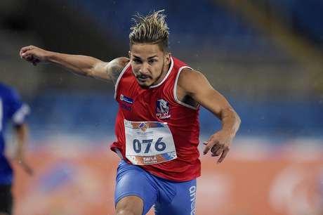 Fábio Bordignon em evento teste para as Paralimpíadas do Rio