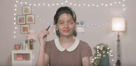 Reshma Qureshi foi queimada há dois anos pelo cunhado