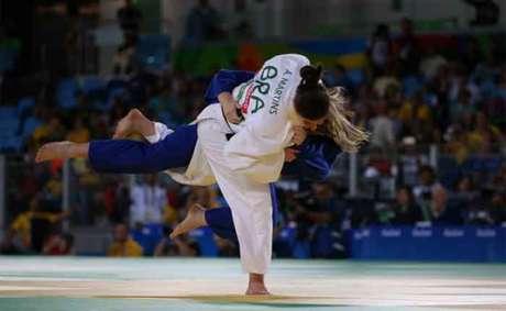 Alana acabou sendo derrotada na final da categoria até 70kg (Foto: Reprodução Flickr)