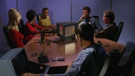 Em 'Star Trek', os computadores pessoais eram parte do cotidiano dos personagens