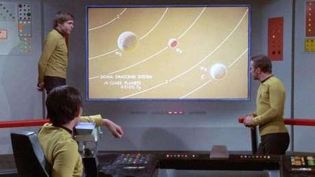'Star Trek' previu as televisões de telas planas, finas e tamanho grande