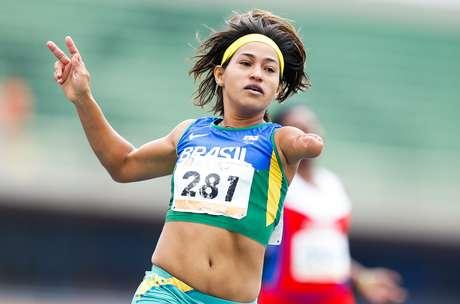 A velocista brasileira Teresinha de Jesus