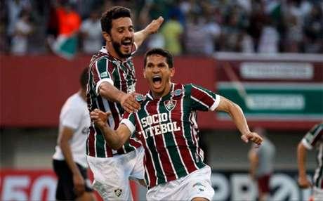 Magno Alves deu três assistências, uma delas para Marquinho marcar (Foto: Nelson Perez/Fluminense F.C.)