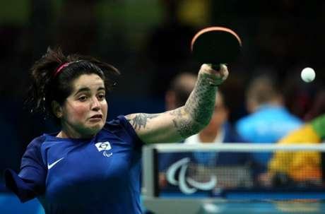 Bruna Alexandre conquistou a medalha de número 43 do Brasil na Paralimpíada do Rio (Foto:Alaor Filho/MPIX/CPB)
