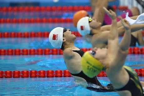 Nas provas de natação da Paralimpíada, os competidores apresentavam deficiências distintas, que, num primeiro momento, causaram até dúvida para os expectadores sobre um atleta ter mais vantagem que o outro