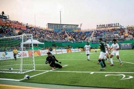 Ricardinho garantiu a vitória brasileira neste sábado (Foto: Divulgação)