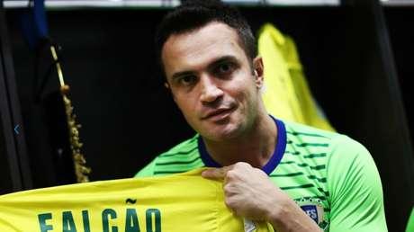 Falcão tornou-se neste sábado o maior artilheiro da história das Copas, com 45 gols (Foto: Reprodução/Site da FIFA)